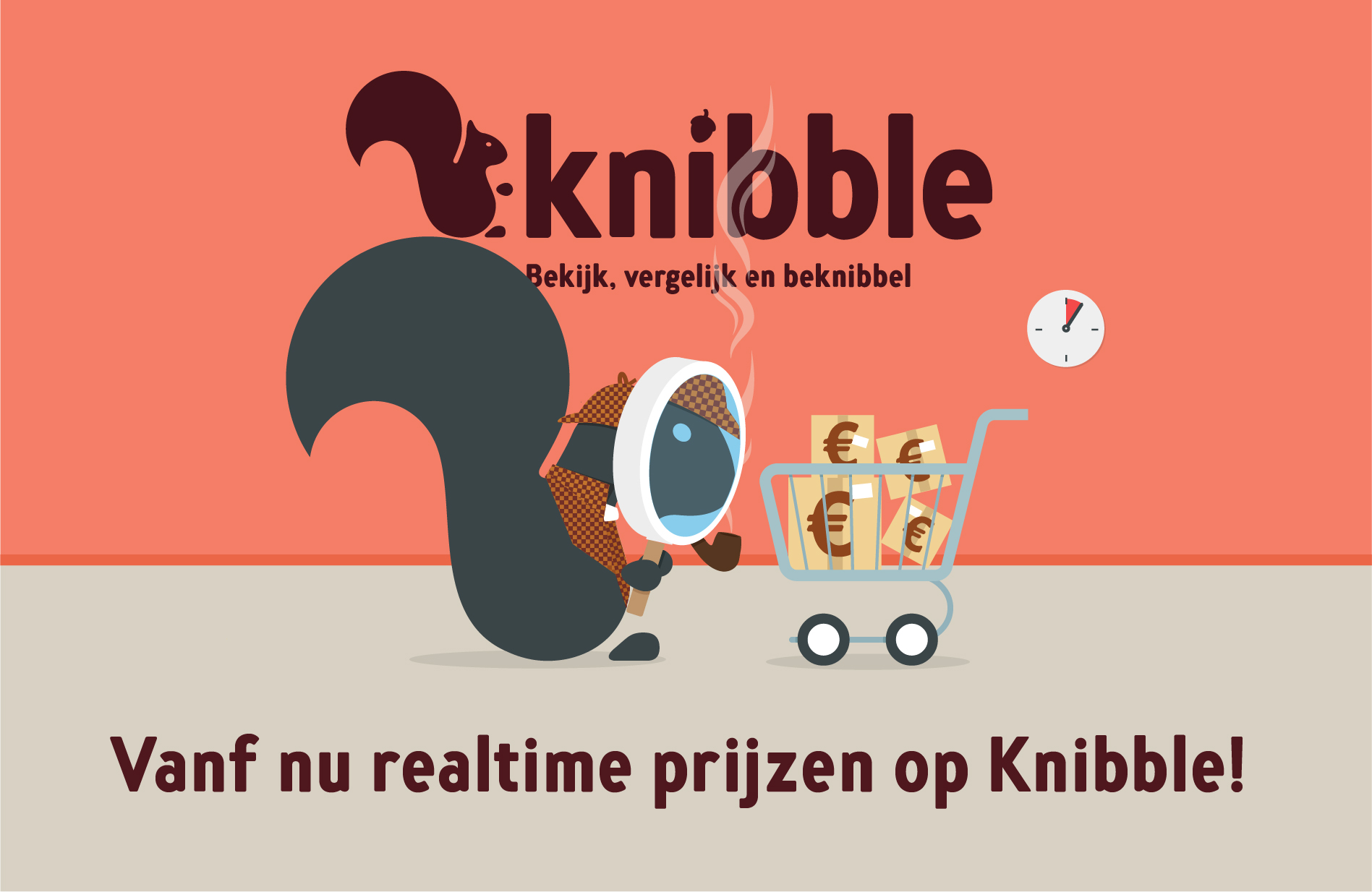 Knibble realtime prijzen
