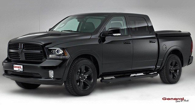 Pagina 16 17 Dodge Ram Black Night Edition General Cars Parts logo BorderMaker